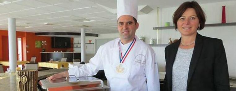 Cuisinier Anthony Hervy de La Châtaigneraie