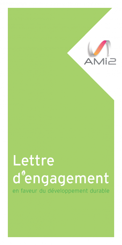 Flyer lettre d'engagement