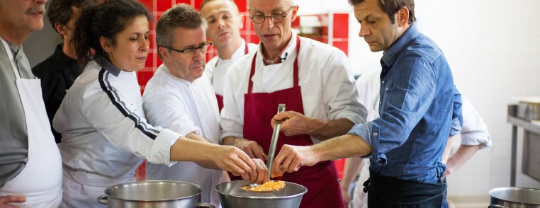 Laurent Mariotte et chefs Cap France