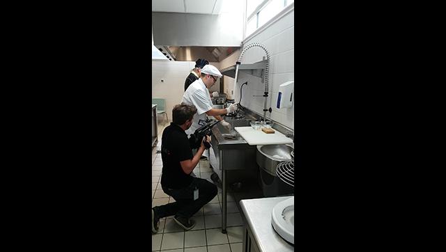 Tournage Côté Menu - cuisine