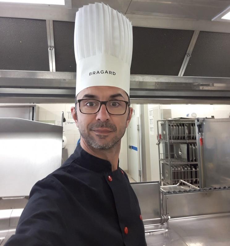 M. IVARS, Responsable de la cuisine centrale de Monestiés (81)