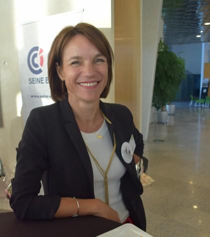 Karin WARIN, Trophée des Femmes de l'économie - © Les femmes de l'économie