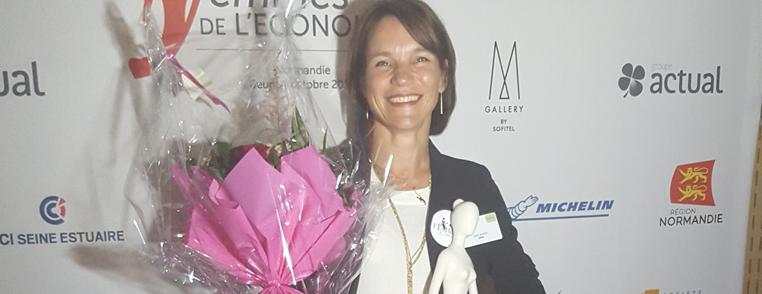 Karin WARIN - Trophée les femmes de l'économie - bandeau blog