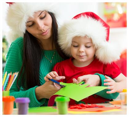 Création déco Noël enfant