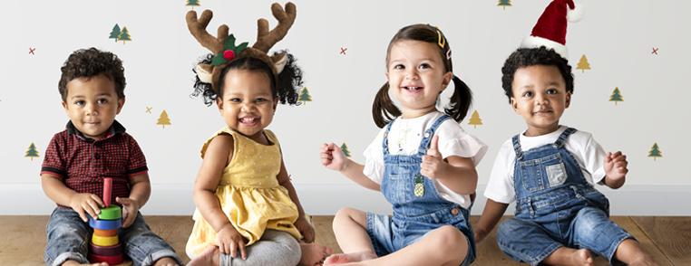 Préparer Noël avec des enfants - bandeau